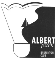 Albert Park Badminton Club Logo